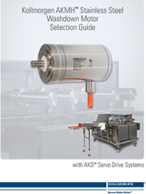 Kollmorgen AKMH Stainless Steel -Servo Motor Selection Guide