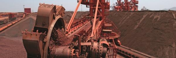Industrial Minerals Excavator