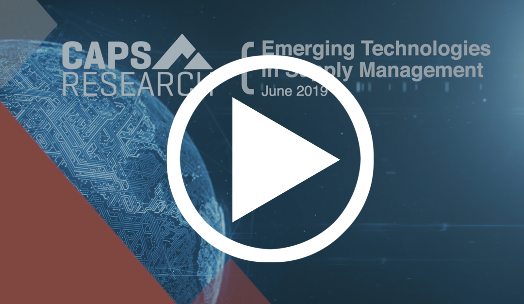 Emerging Technologies Video
